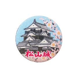 ちりめんマグネット_松山城